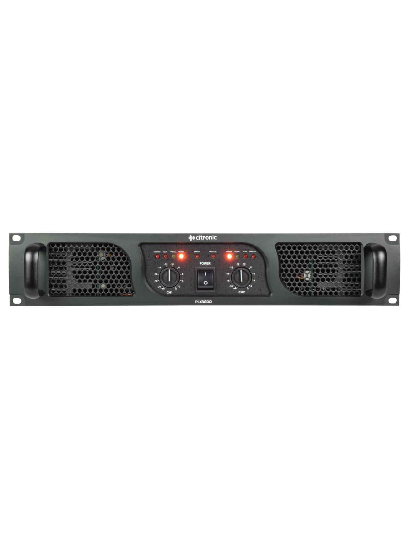 Citronic PLX3600 Τελικός Ενισχυτής 2x1350W 2U