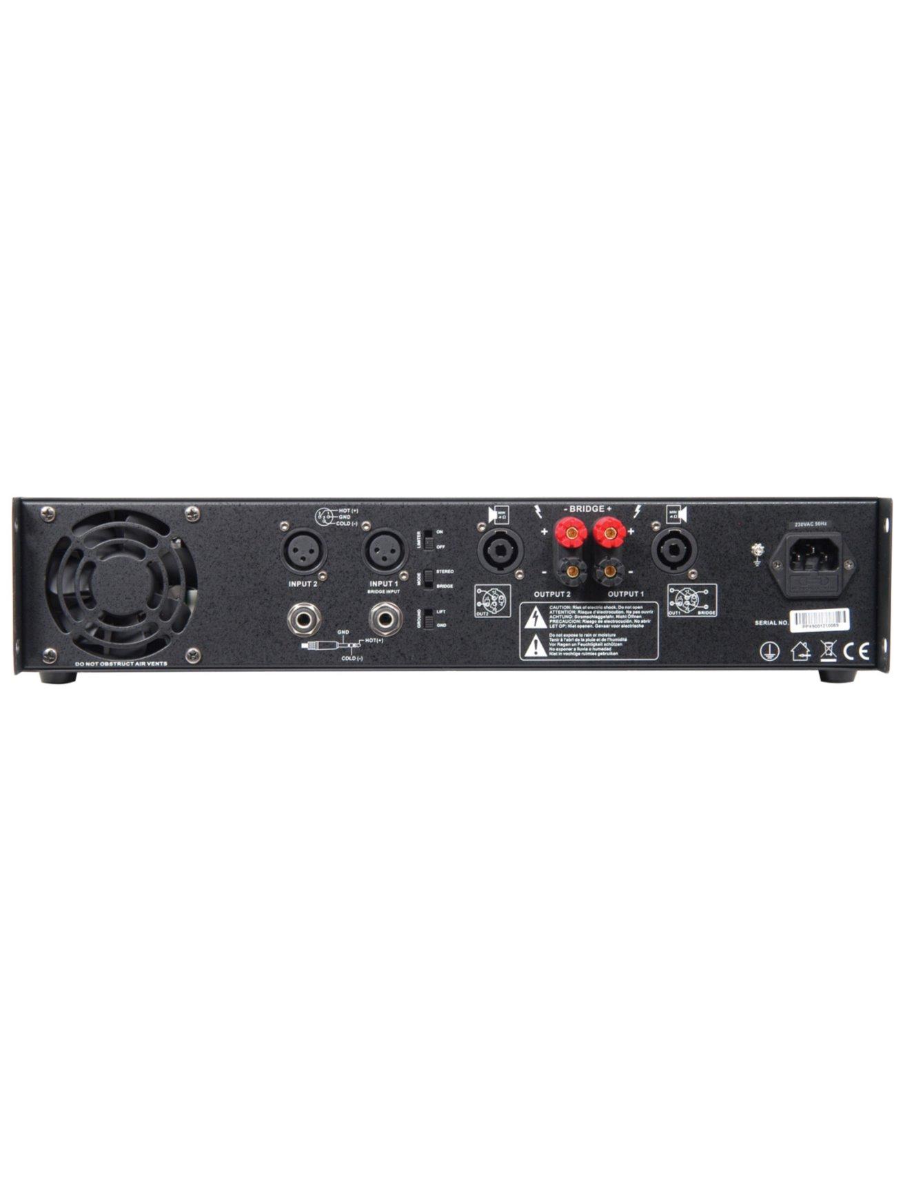 Citronic PPX900 Τελικός Ενισχυτής 2x450W 2U