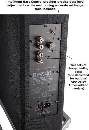 """Definitive Technology BP9040 Επιδαπέδια Ηχεία  4-1/2""""  8Ω 300W"""