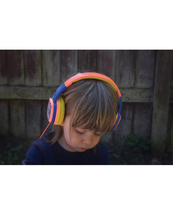 AvLink Doodle Orange Παιδικά Ακουστικά