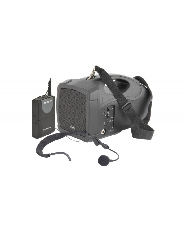 Adastra H25 Επαγγελματικό Φορητό Χειλόφωνο με Φορητό Ηχείο και USB