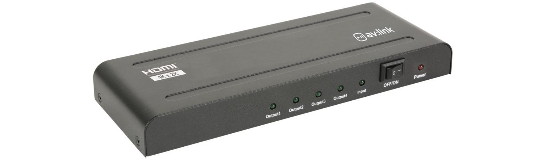 AvLink HDS14 4K HDMI Splitter