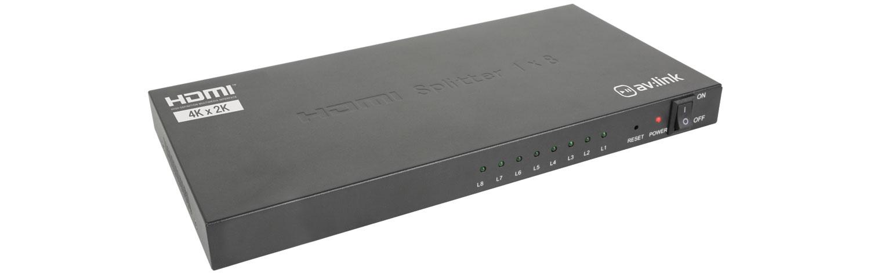 AvLink HDS18 4K HDMI Splitter