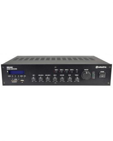 Adastra RM240S 100V/8Ω Μίκτης-Ενισχυτής Με USB/SD/FM & Bluetooth 240W 2U
