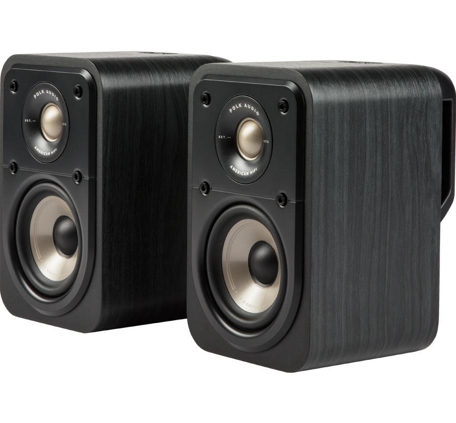 Polk Audio S10e Ηχεία Home Cinema/Βιβλιοθήκης 4″ 8Ω 100W
