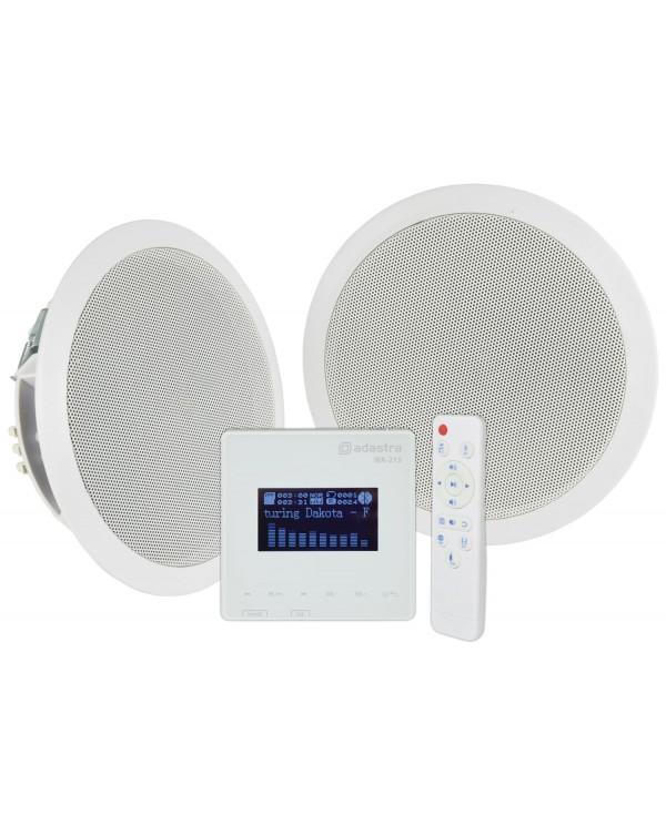Adastra WA-215-SET Ολοκληρωμένο Σύστημα 2 Ηχείων με Ενισχυτή Bluetooth 2x15W (Σετ)