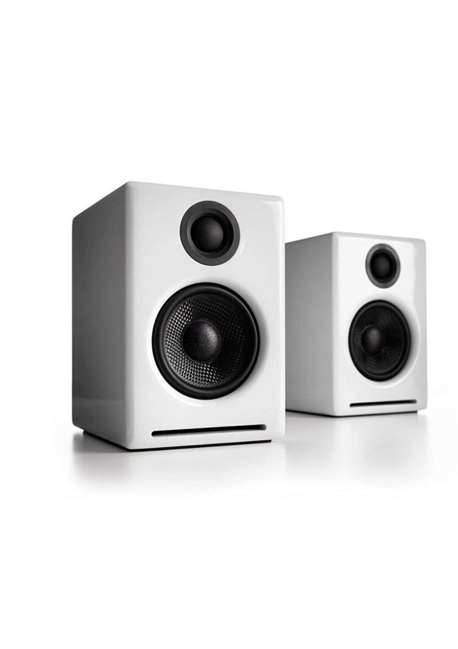 Audioengine A2+Wireless Ασύρματα Αυτοενισχυόμενα Ηχεία Υπολογιστή White
