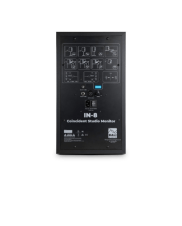 "Kali Audio IN-8 Studio Monitor 3-Way 8"" 140W"