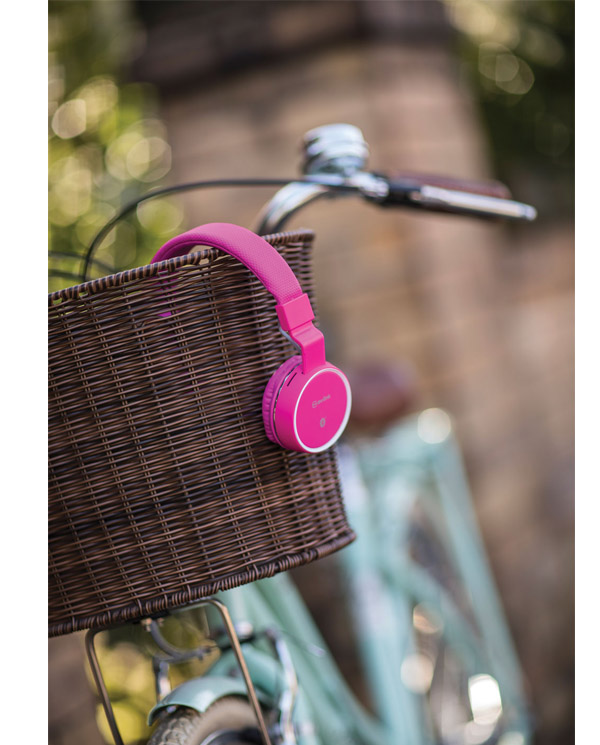 Avlink PBH10-PNK Ασύρματα Ακουστικά Bluetooth