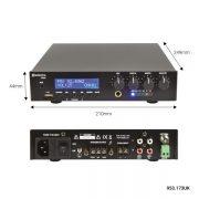 Adastra UM60 100V/8Ω Μίκτης-Ενισχυτής Με USB/FM & Bluetooth 60W