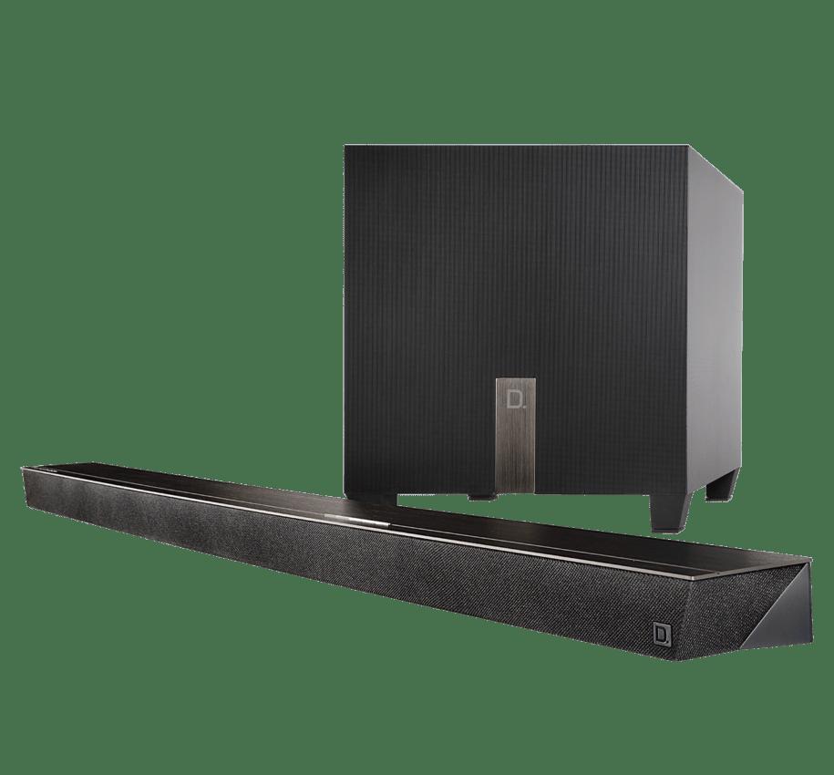 Definitive Technology Studio Slim Sound Bar 3.1 – Sub 8″ 8Ω 100W