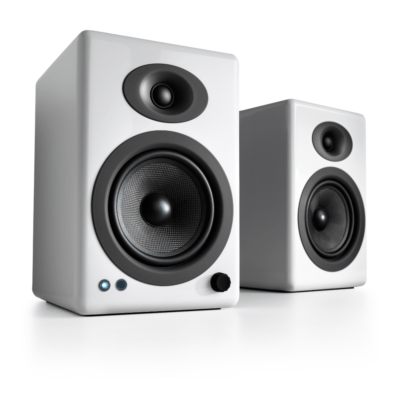 Audioengine A5+ Ασύρματα Αυτοενισχυόμενα Ηχεία Υπολογιστή