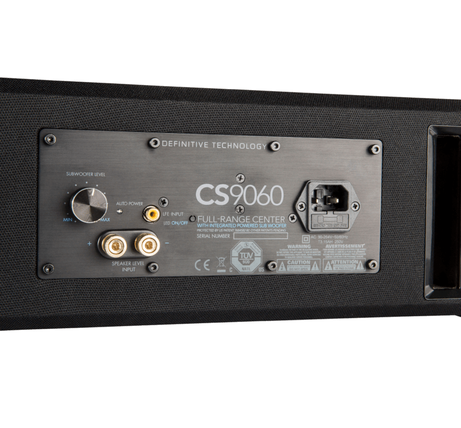 Definitive Technology CS9060 Κεντρικό Ηχείο  4.5″ 8Ω 300W