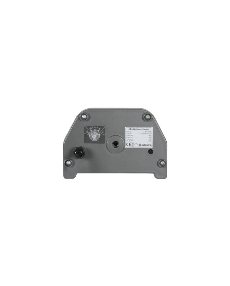 Adastra HD30V Ηχοστήλη Επιτοίχια 2×4″ 100V/8Ω 30W