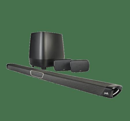 "Polk Audio Maginfi Max SR - Home Theater Sound Bar/Wireless Subwoofer 8"" 400W"