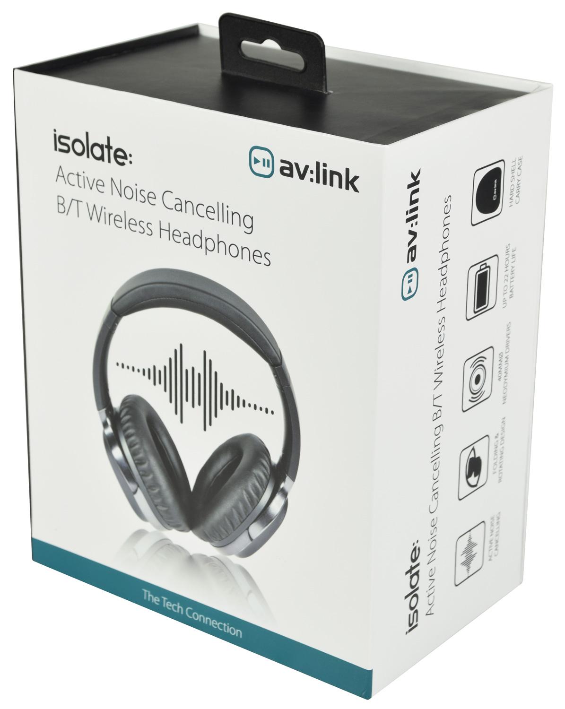 AvLink ISOLATE Ενεργά Ακουστικά Bluetooth