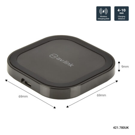 AvLink 10W Fast Wireless Charging Pad