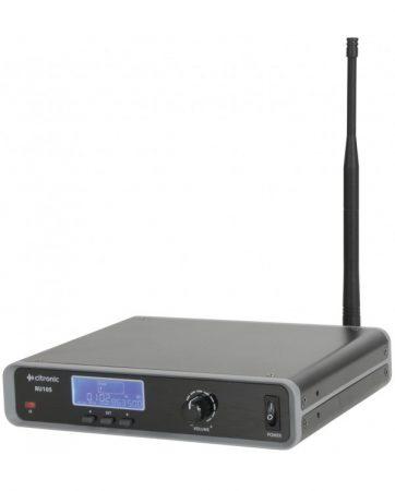 CITRONIC RU105-N Επαγγελματικό Ασύρματο Χειλόφωνο Και Μικρόφωνο Πέτου UHF