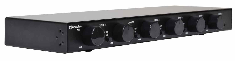 AT6 Switcher Rack-mount 100V + A/B Source Switch 6 x 30W
