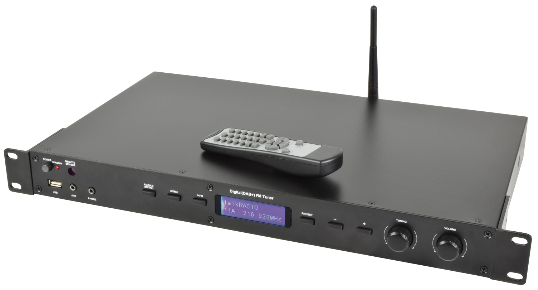 AS-4 Αναπαραγωγή πολυμέσων με Ψηφιακό δέκτη DAB+, FM, USB, Aux and Bluetooth