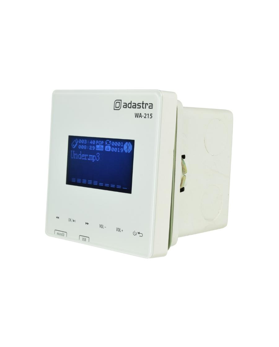 Adastra WA-215 Επιτοίχιος Ενισχυτής /Media Player/Bluetooth/FM