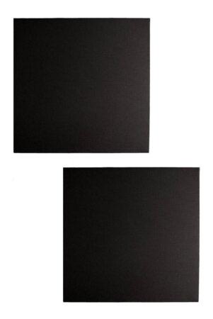 Audiodesigner Tetragwno Ηχοαπορροφητικό Πάνελ 5cm Μαύρο (Ζεύγος)