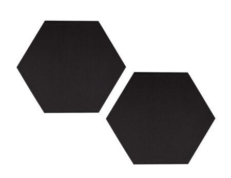 Audiodesigner Kipseli Ηχοαπορροφητικό Πάνελ 5cm Μαύρο (Ζεύγος)