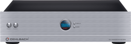 Oehlbach Powerstation 909 Τροφοδοτικό Πολλαπλών Θέσεων Ασημί