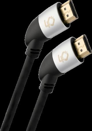 Oehlbach Easy Connect HS.40 Καλώδιο HDMI® Yψηλής Tαχύτητας με Ethernet Μάυρο 1,40 Μέτρα
