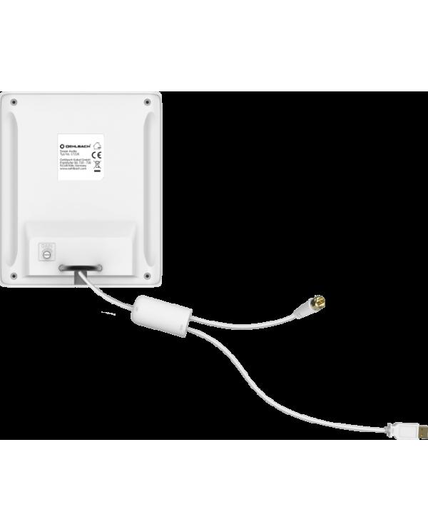 Oehlbach Scope Audio Εσωτερική Κεραία για DAB + Λευκό