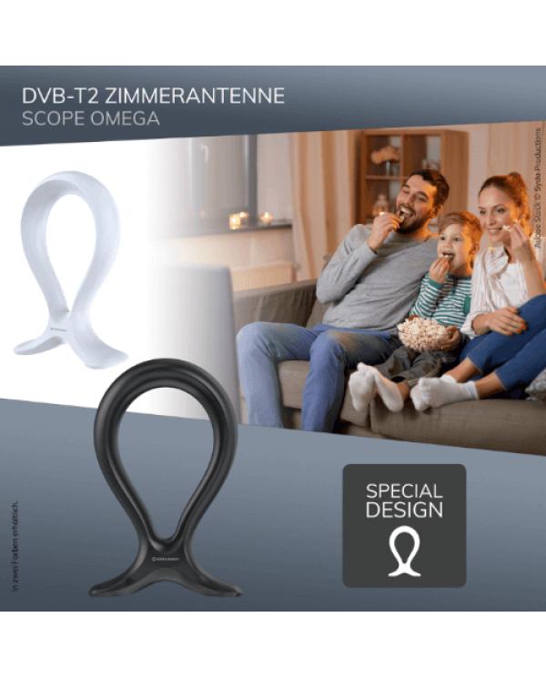 Oehlbach Scope Omega Εσωτερική Κεραία για DVB-T2 Λευκό