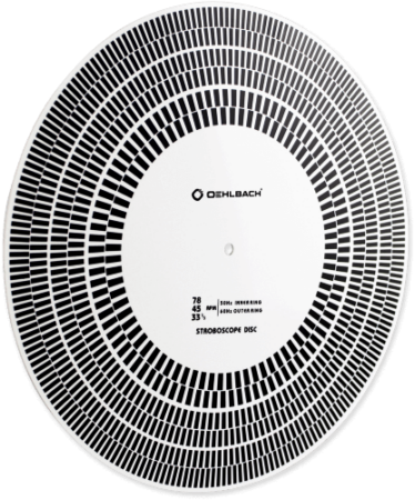 Oehlbach Speed Check Πλαστικός Δίσκος Stroboscope