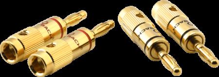 Oehlbach Banana B1 μέχρι 10 mm² Χρυσό