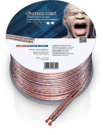 Oehlbach Speaker Wire SP-40 Καλώδιο Ηχείων 2 x 4 mm² 20m