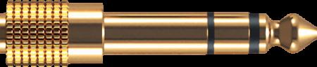 Oehlbach i-Jack AD 35/63 Mobile jack Αντάπτορας 3.5 mm jack socket - 6.3 mm jack