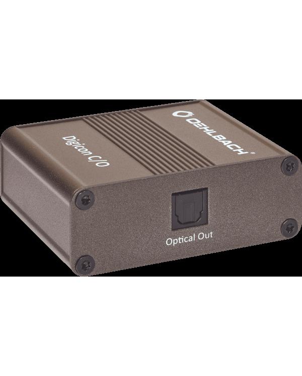 Oehlbach Digicon C/O Μετατροπέας Ψηφιακού σε Οπτικό Σήμα RCA – TOSLINK