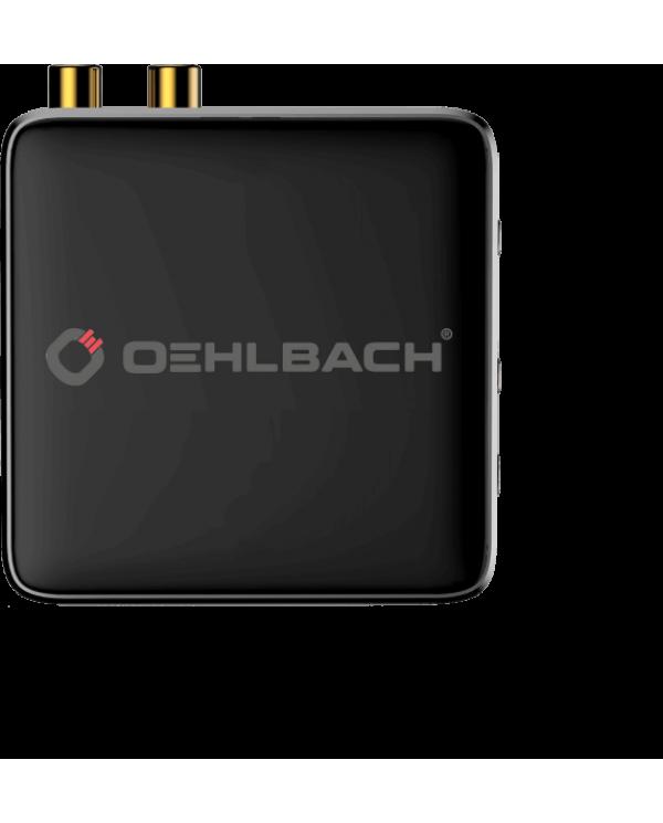 Oehlbach BTR Evolution 5.0 Πομπός / Δέκτης Bluetooth® 2 x RCA Ασημί