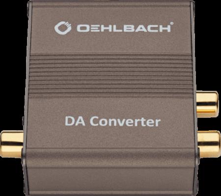 Oehlbach Digi Bridge Μετατροπέας Ψηφιακού σε Αναλογικό Σήμα Cinch  - 2 x Cinch (Τεμάχιο)