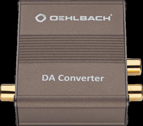 Oehlbach Digi Bridge Μετατροπέας Ψηφιακού σε Αναλογικό Σήμα Cinch  – 2 x Cinch (Τεμάχιο)