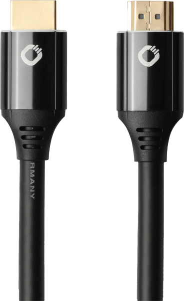 Oehlbach Black Magic MKII Καλώδιο HDMI® Yψηλής Tαχύτητας 0.75m Μαύρο