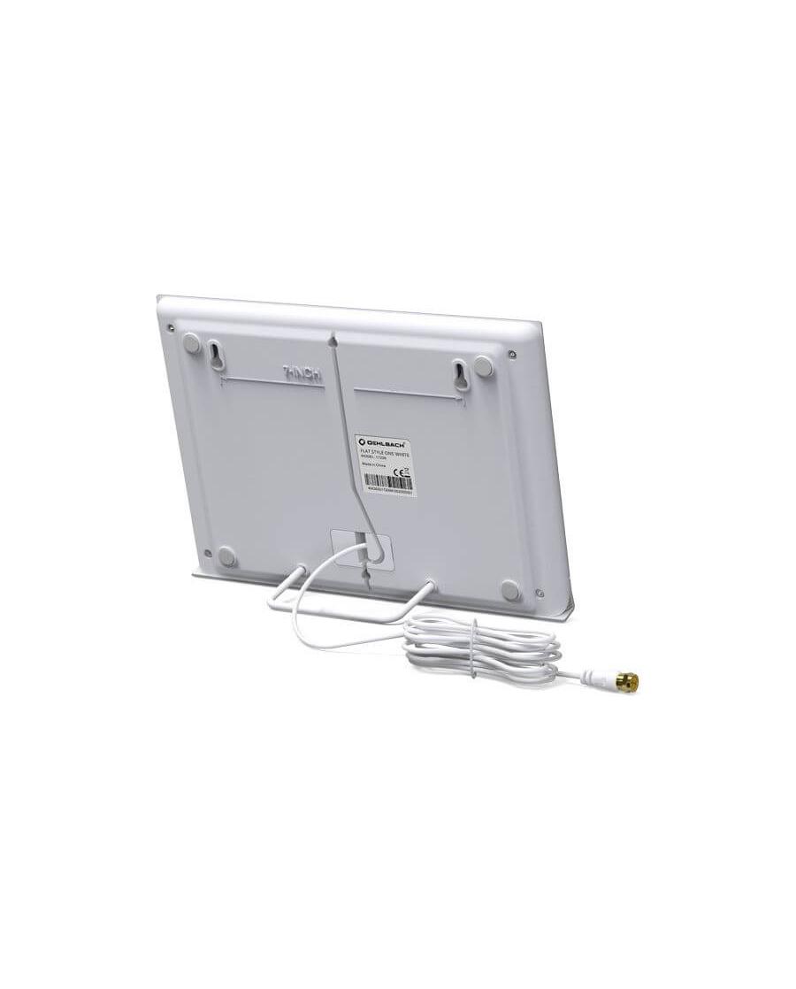 Oehlbach Flat Style One Εσωτερική Kεραία για DVB-T2 Λευκό