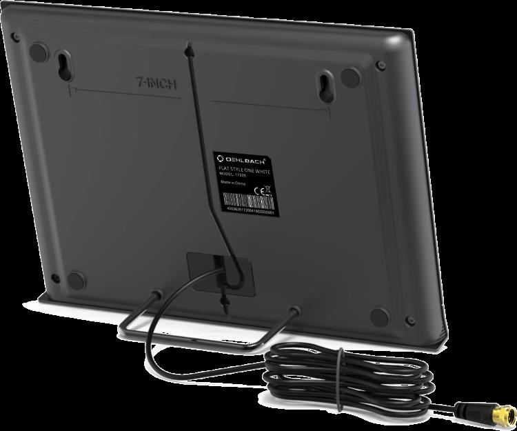 Oehlbach Flat Style One Εσωτερική Κεραία για DVB-T2 Μαύρο (Τεμάχιο)