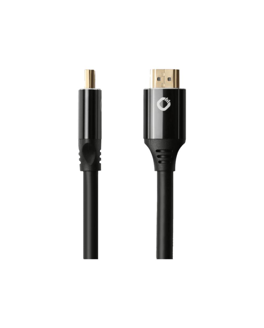 Oehlbach Black Magic MKII Καλώδιο HDMI® Yψηλής Tαχύτητας 1.5m Μαύρο