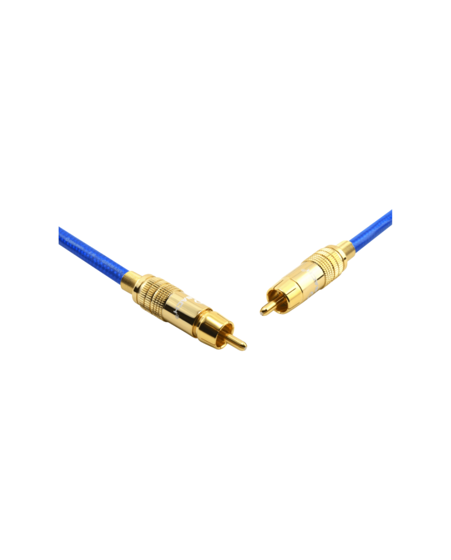 Oehlbach NF 113 DI Ψηφιακό Καλώδιο RCA-RCA 1m Μπλε