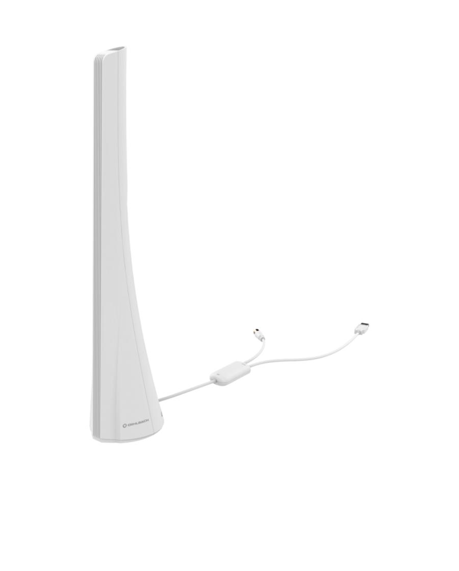 Oehlbach Scope Audio Max Εσωτερική Κεραία για DAB + Λευκό