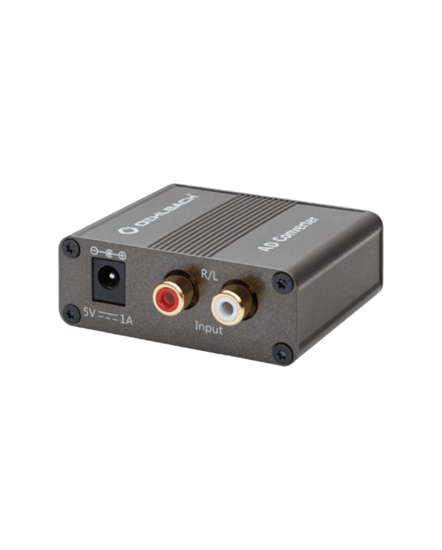 Oehlbach AD Bridge Μετατροπέας Αναλογικού σε Ψηφιακό σήμα 2 x RCA – RCA