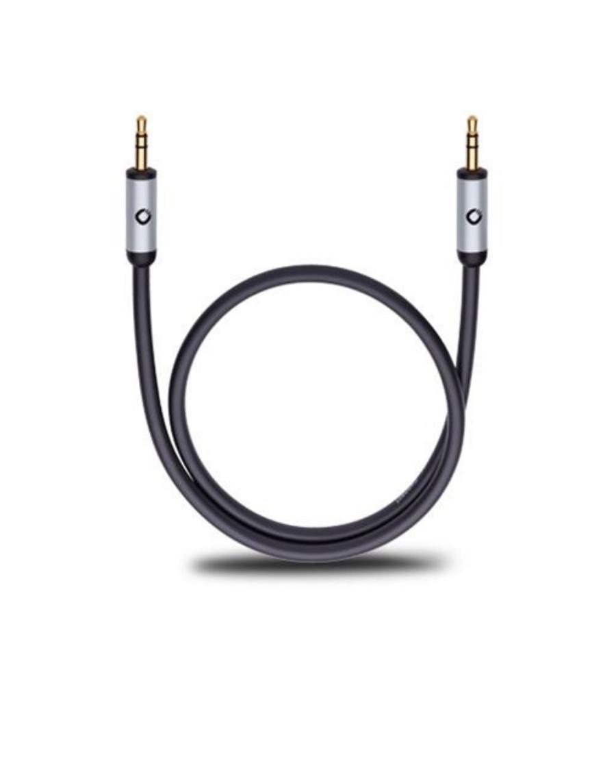 OEHLBACH i-Connect J  Καλώδιο ήχου 3.5mm Jack – 3.5mm Jack 1.5m Μαύρο