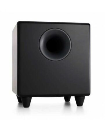 Audioengine S8BL-W3 Wireless Active Subwoofer  8'' 125W RMS