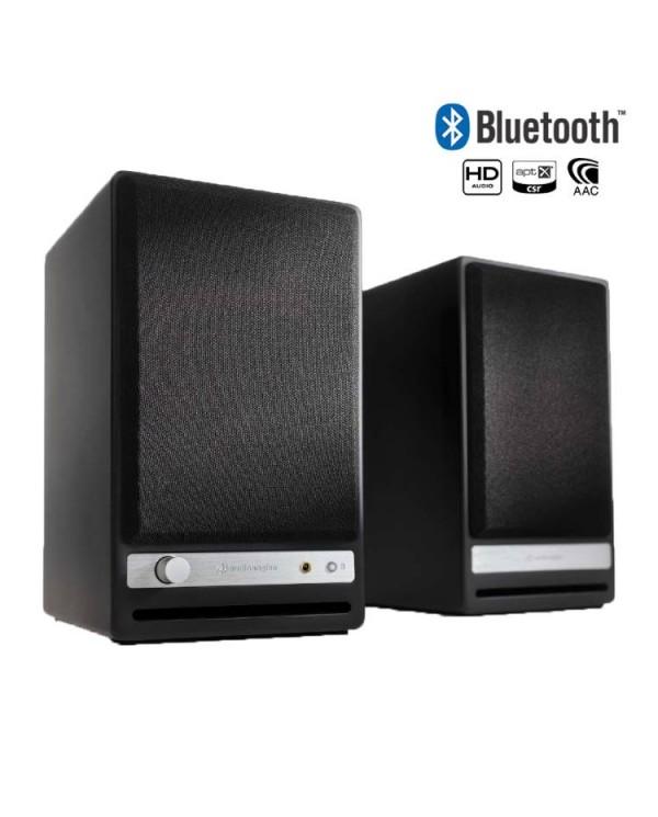 "Audioengine HD4 Bluetooth Αυτοενισχυόμενα Ηχεία Βιβλιοθήκης 4"" 30W RMS Μαύρα"